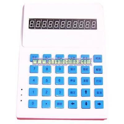 LED Telephone Bill Calculator