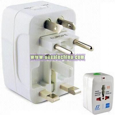 All-in-one Universal Travel Adapter with Surge Protection
