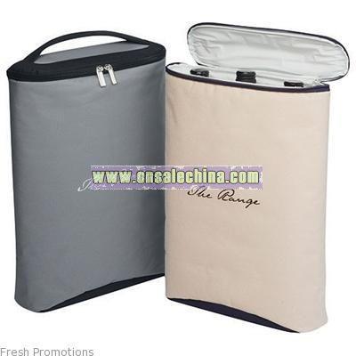 Beige Or Grey Cooler Bags