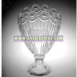 Lead crystal award