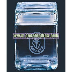 Square shape crystal canister