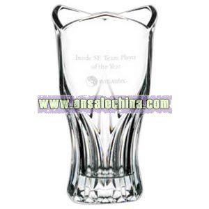 Small - 24% lead crystal vase