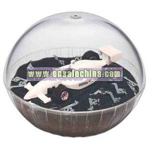 Car - Mobile crystal globe