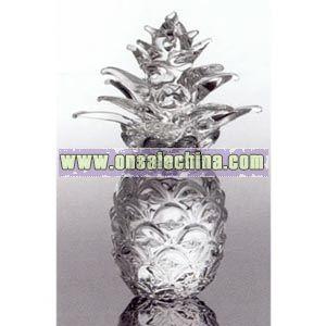 crystal pineapple replica