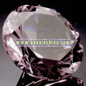 Diamond shape desk accessory