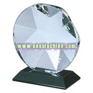 Optical crystal star award