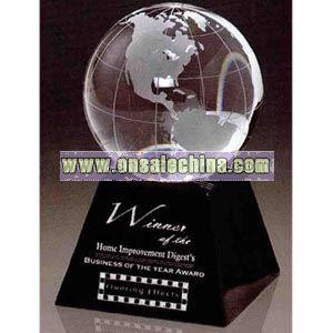 Optic crystal ball