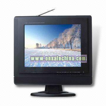 14 Inch Analog TFT LCD TV/Monitor with Card Reader/USB/VGA