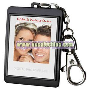Black digital photo frame