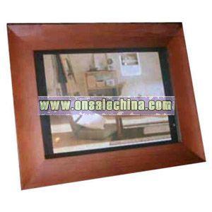 Wood digital photo frame