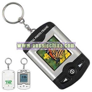 Digital picture frame key chain
