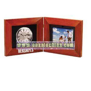 Deluxe wooden frame