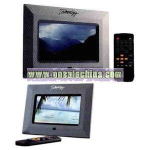 Charcoal digital photo frame