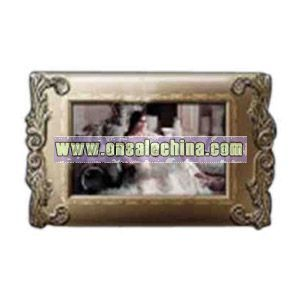 Metal digital photo frame