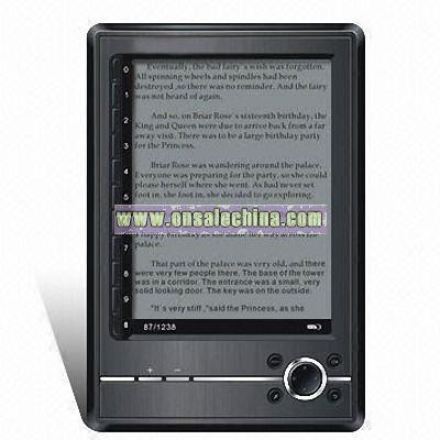 Gray E-book Reader