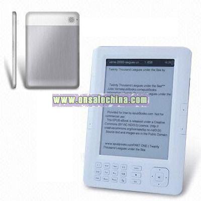 6 inch E-Book Reader