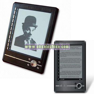 E-book Reader with 6-inch E-ink