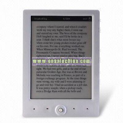 Samsung Plan 6-inch E-book Reader