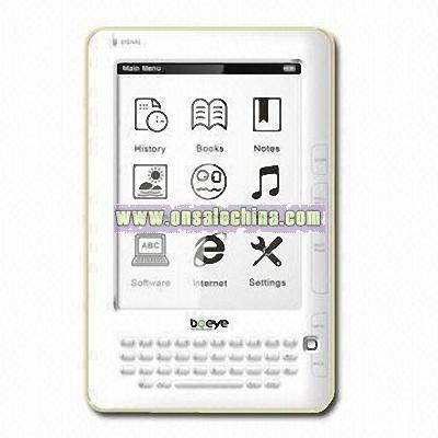 6-inch E-ink E-book Reader
