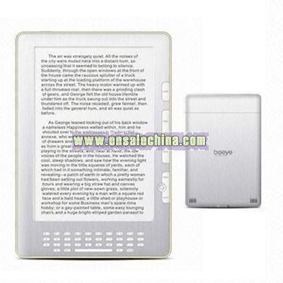 9.7-inch E-ink Ebook reader