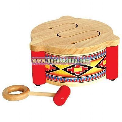 Wooden Drum Toys