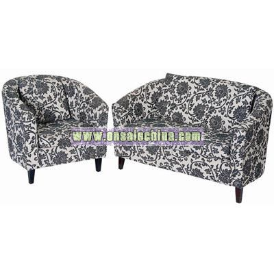 Rubber Wood Furniture On Or Bycast Leather Or Pu Wooden Structure With
