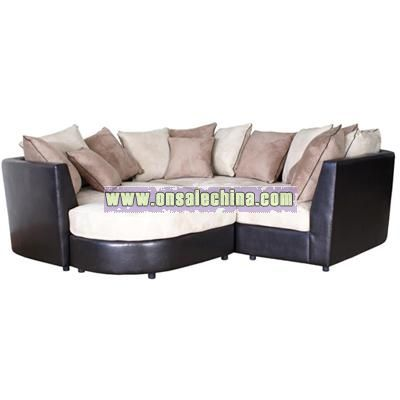 Leather Living Room Sectional Sofa