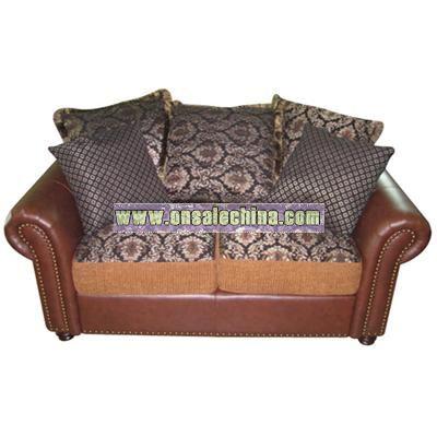 Leather Living Room Sofa