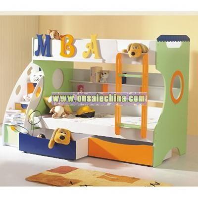 Kids Loft Beds  Steps on Kids Beds Wholesale China   Osc Wholesale