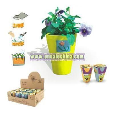 Mini Flower In Ceramic Pot