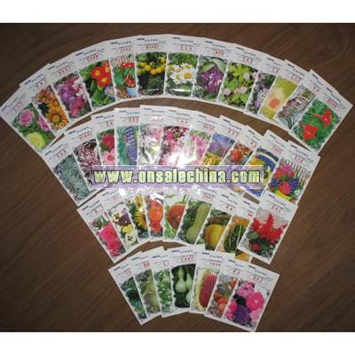 Flower Seed wth Small Bag