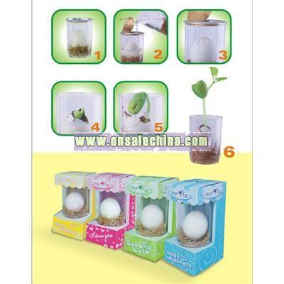 Easter color egg-Message Bean
