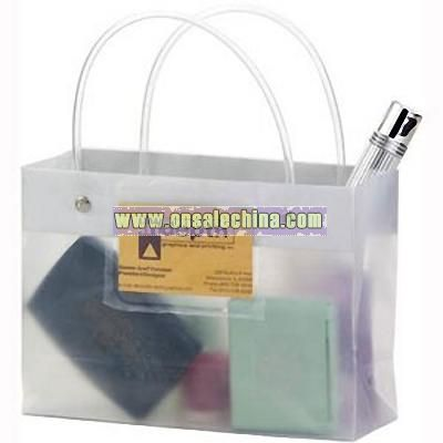 Frosted Tube Handle Bag