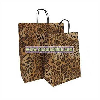 Animal Design Carrier Bags