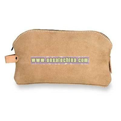 Suede Bag,11 In L
