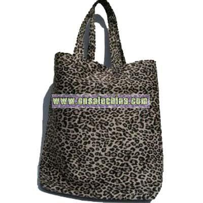 Leopard Print Shopper Bag