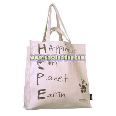 Cream Shopper Bag