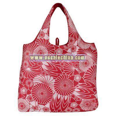 Envirosax Flora Shopper Bag - Red
