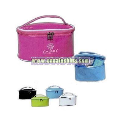 Custom Imprinted PVC cosmetic bag