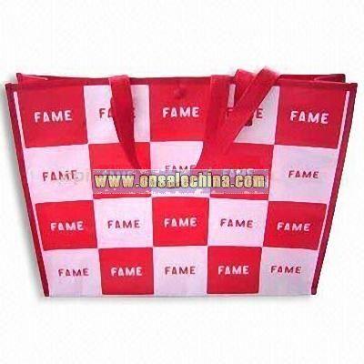 Silk Printed Shopping Bag