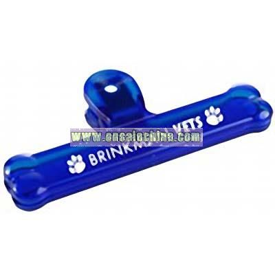 Dog Bone Bag Clips
