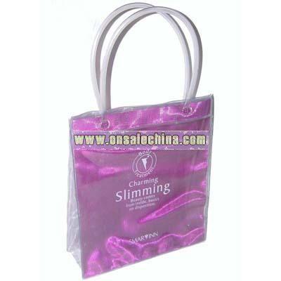 pvc hand bags