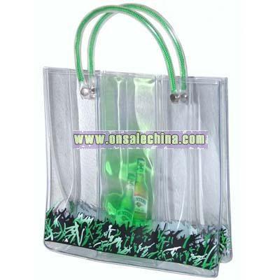 Liquid PVC hand bag