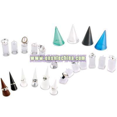 Acrylic Ring Display Set
