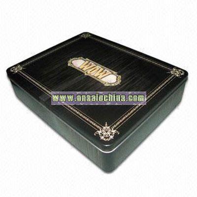 Novelty Tinplate Box