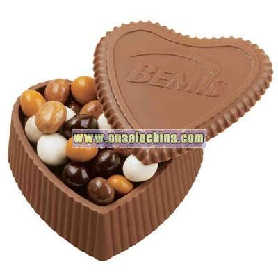 Chocolate Heart Shaped Box