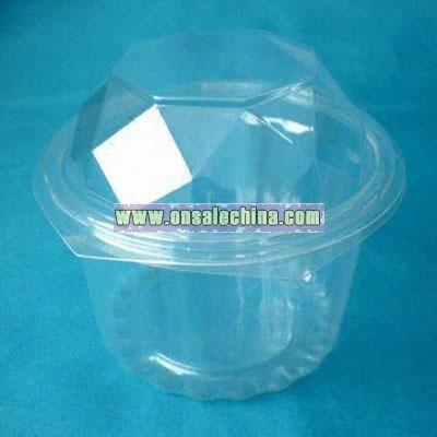 Transparent PET Hexagonal Box