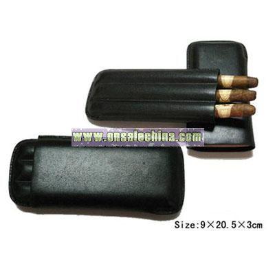 Leather Cigar Holder