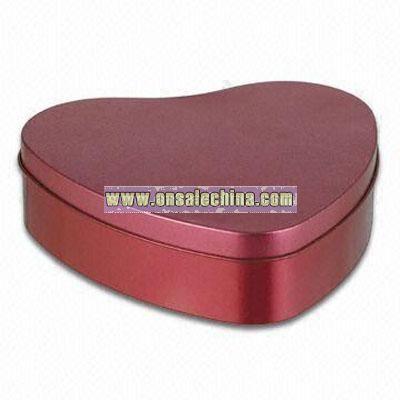Heart Gift Tin Box