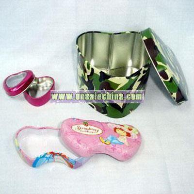 Heart Tin Box